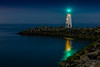 Walton Lighthouse Night Reflections 1
