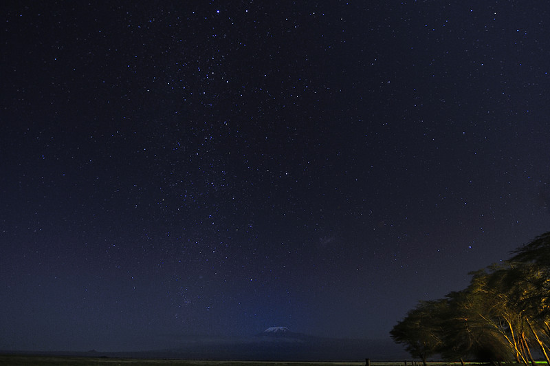 Mt. Kilimanjaro Night Skies