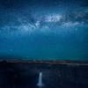 The Milky Way over Palouse Falls, Palouse Falls State Park, Washington State