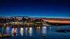 Pre-dawn Harbor Reflections