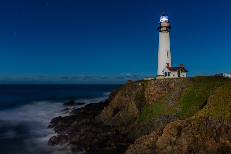 Nighttime Lighthouse 2