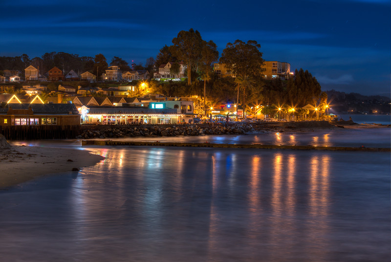 Capitola Night Reflections