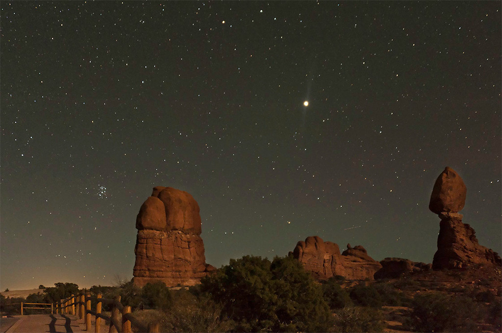 Arches National Park  at  8:35PM