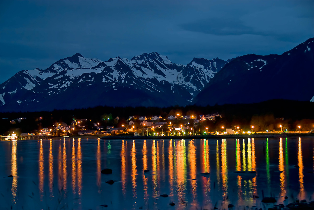 Night in Haines
