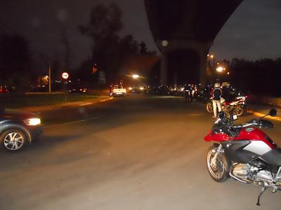 Night Ride With BMW Chile