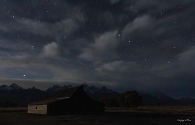 Big Dipper & Moulton Barn Teton NP