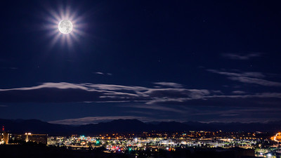 Super Moon Nightscape