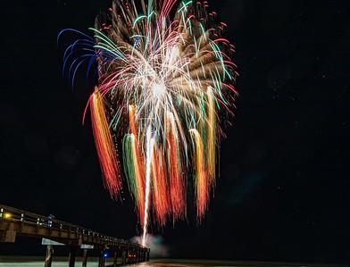 Fireworks Beach Blast off New Years Ever 2019-2020