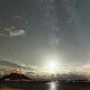 Milkyway & Moon combo at St Michael's Mount 4/11/16