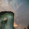 Skenfrith Castle Milky way 26/8/16