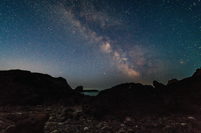Kynance Cove Milkyway 21/4/18