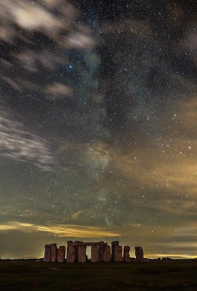 Stonehenge milkyway