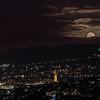 Bath Moon rise 1/2/18