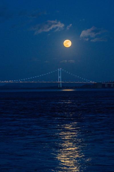 River Severn Super Moon 31/1/18