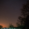 Stars over The Avon and Kennet Canal, Seend, Wiltshire
