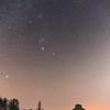 Stars over Worcester Lodge, Badminton Park 26/1/17