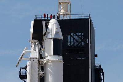 SpaceX Falcon9 CrewDragon Demo-1 Launch Day