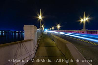St Augustine, FL At Night