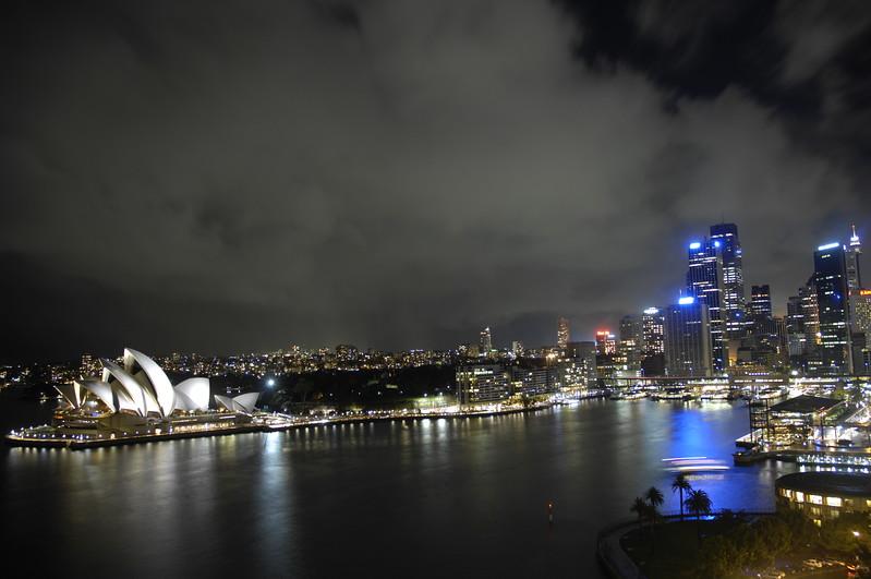 Storm Clouds Over Sydney Harbour