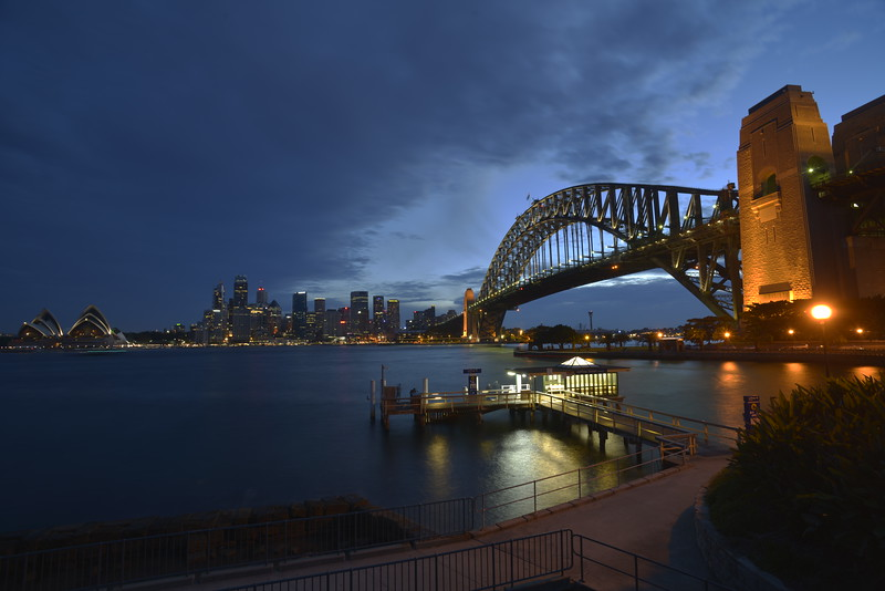 Sydney Harbour at Dusk