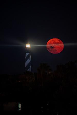 Full Moonrise - St Augustine Lighthouse