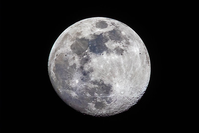 International Space Station Transit Of The Moon (ISS)