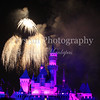 Fireworks, 2008; Summer; Night Shot; Long Exposure; Night Lights; Disney; Mickey Mouse; Disneyland