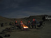 Campfire. Anza Borrego