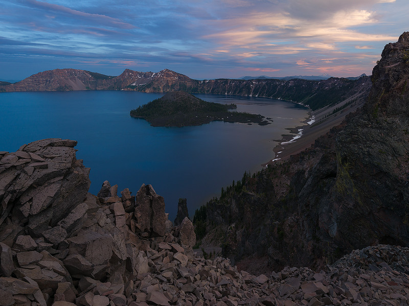 Just After Sunset - Crater Lake National Park