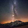 The Milky Way Rising - Mount Rainier National Park, Washington