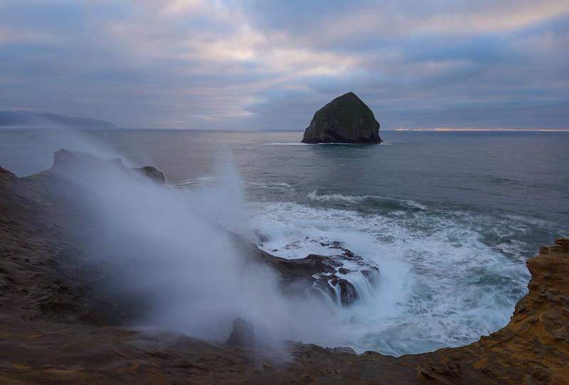 Sea Stacks and Beaches of the Central Coast - Oregon
