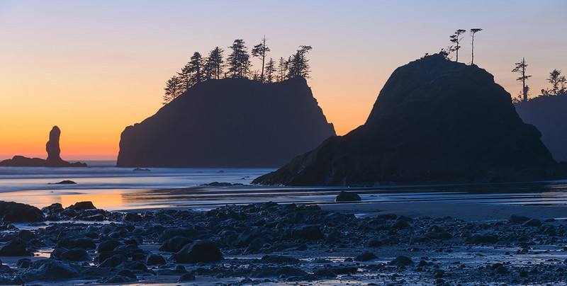 Beaches of the Pacific Coast - Olympic National Park, Washington