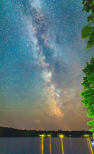 Milky Way over Lake Millicent #2