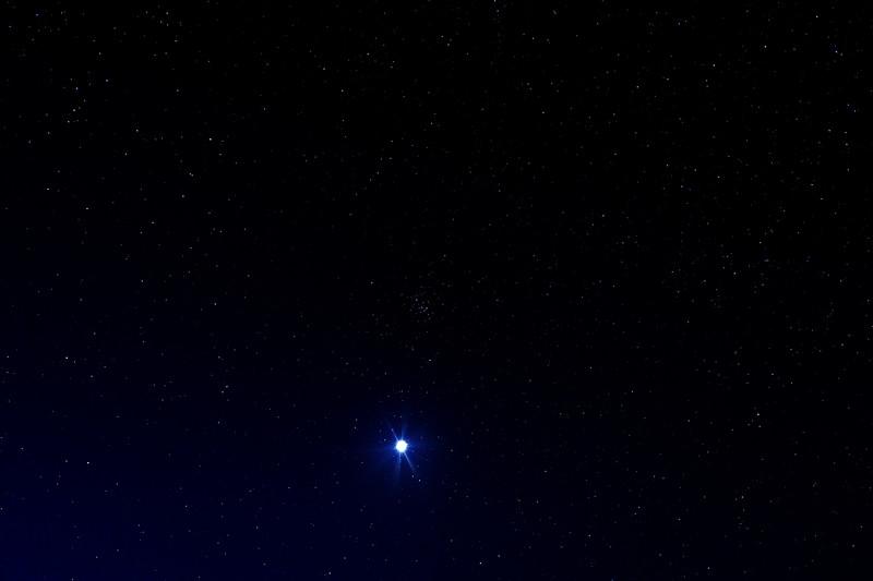 Venus, just before dawn