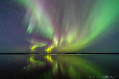Aurora Borealis -Ennadai Lake, Nunavut Territories