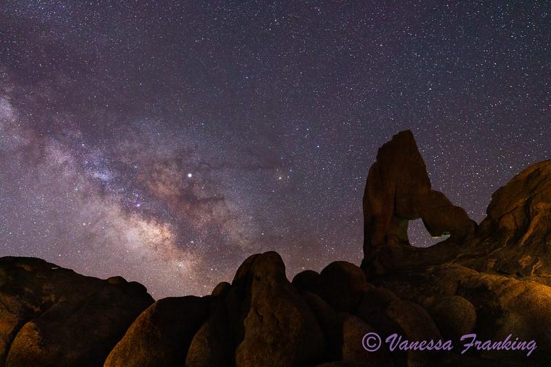 Milky Way Alabama Hills