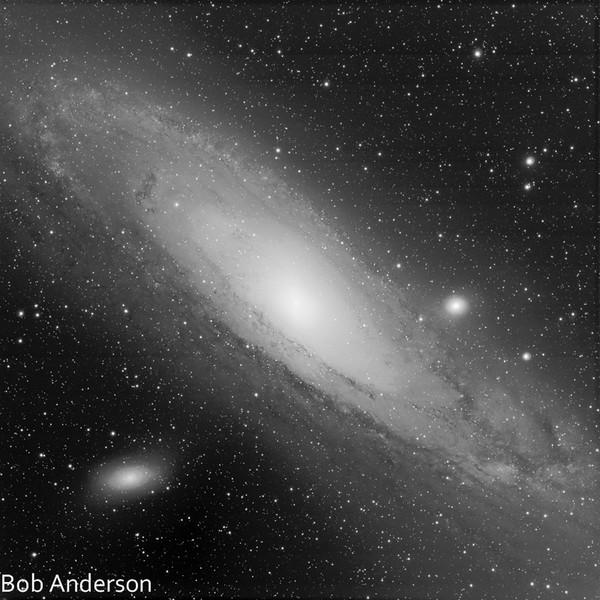 M31, Luminance