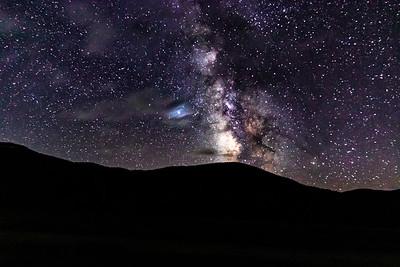 Camp Hale Milky Way