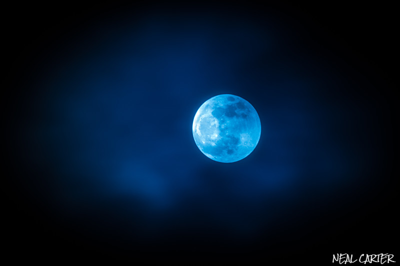 Blue Super Moon