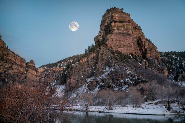 Hanging Moon || Hanging Lake