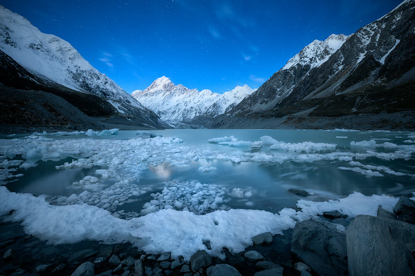 Frozen Wish || Hooker Lake
