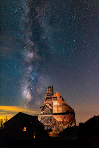 Milky Way Over the Theresa Mine