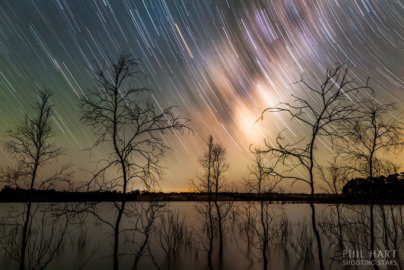 Lake Eppalock Star Trail