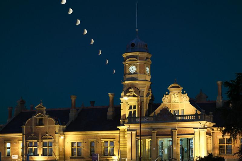 Maryborough Station Lunar Eclipse