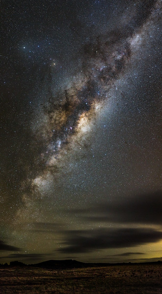 Mount Glasgow Milky Way