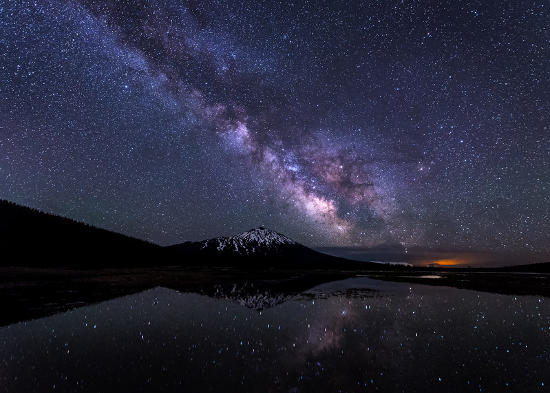 Mt Bachelor Milky Way