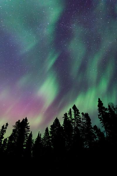 Aurora #16191 <br /> <br /> Devil Fish Lake <br /> Arrowhead Trail <br /> Hovland, Minnesota <br /> (5II2-16191)
