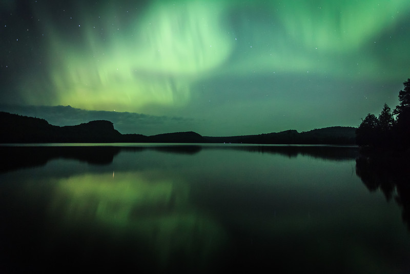 Aurora #16227 <br /> <br /> McFarland Lake <br /> Arrowhead Trail <br /> Hovland, Minnesota <br /> (5II2-16257)