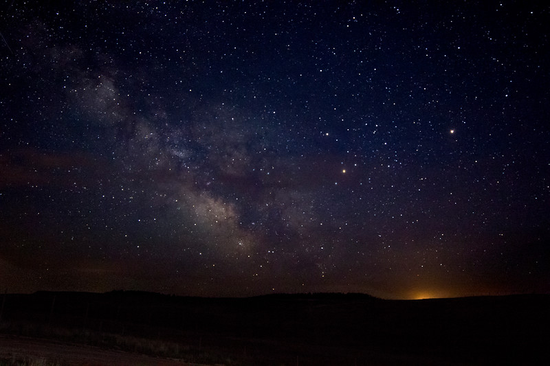 The Milky Way Begins Its Rise