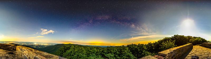 Hawksbill Summit Stars